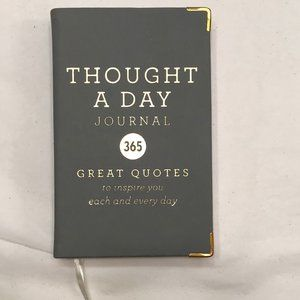 Thought a Day Journal, Great Quotes NEW, UNUSED